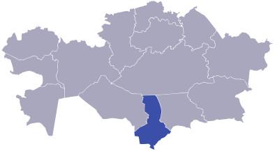 туркестанская область